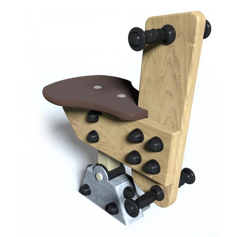 Lapinou - vue de face - structure de jeu extérieur - Ouno by Proludic