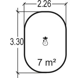 Lapinou - plan 2 - structure de jeu extérieur - Ouno by Proludic