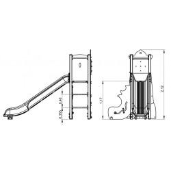 Le phare - plan 1 - structure de jeu extérieur - Ouno by Proludic