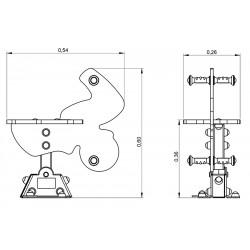 Wroum - plan 1 - structure de jeu extérieur - Ouno by Proludic