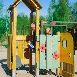 La prairie - mise en situation - structure de jeu extérieur - Ouno by Proludic