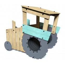 Le tracteur - vue de dos - structure de jeu extérieur - Ouno by Proludic