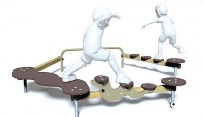 Parcours d'équilibre