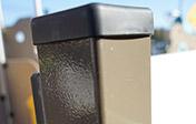 Poteaux carrés - 70x70mm
